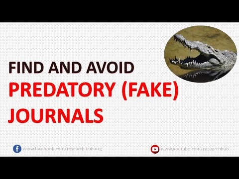 What Is A Predatory (fake) Journal?