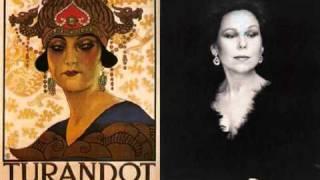 Renata Scotto. Signore ascolta! Turandot. G. Puccini.