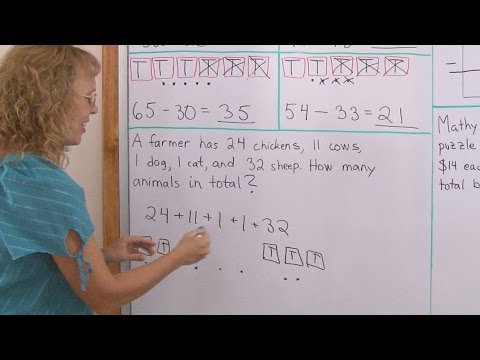 Add and subtract 2 digit numbers without regrouping 1st grade math youtube premium ibookread Download