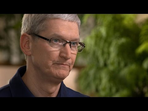 FBI director, Apple CEO talk privacy and security