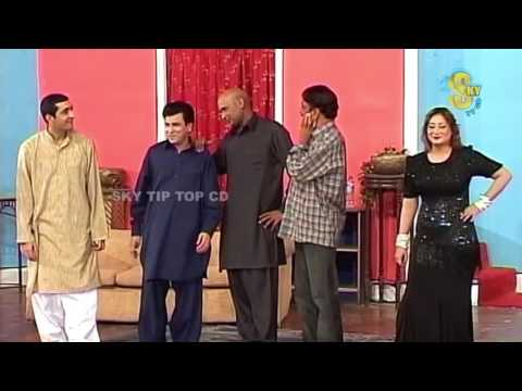 Best of Zafri Khan and Tariq Teddy New Pakistani Stage Drama Full Comedy Clip   Pk Mast