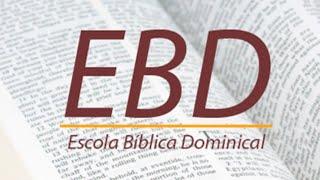 """EBD - 14/02/2021 """"Os dez mandamentos- O primeiro mandamento"""" Ex. 20."""
