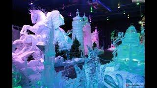 Выставка снежных и ледяных фигур Парк Сокольники в Москве 01.01.2017