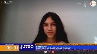 """JUTRO-Biljana Čekić:""""Bilo je emotivno teških scena.Kad držim svog brata, govorim mu koliko ga volim"""""""