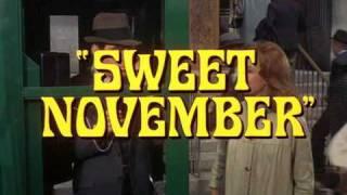 Trailer - SWEET NOVEMBER 1968