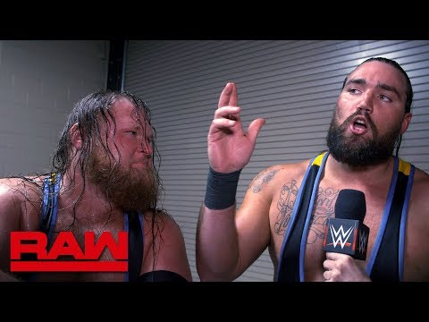 Why you should never make fun of Heavy Machinery: Raw Exclusive, March 4, 2019