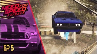 MUSCLE CARS CAN FLY!?! (Need for Speed Payback Walkthrough #5)