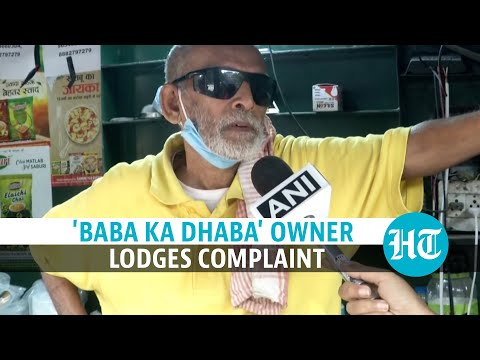 Watch: 'Baba Ka Dhaba' owner accuses YouTuber of misappropriation of funds