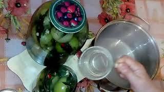"""Больше не консервирую - Маринованные зелёные помидоры на зиму """"по-грузински"""" - обалденно вкусные"""