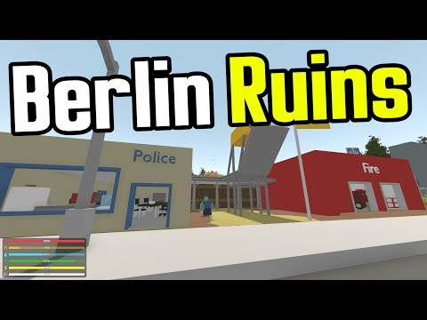 MAN vs UNTURNED - E05 - Ruins of Berlin - Unturned Germany Map Playthrough