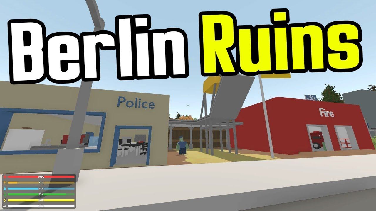 MAN Vs UNTURNED E Ruins Of Berlin Unturned Germany Map - Berlin map unturned