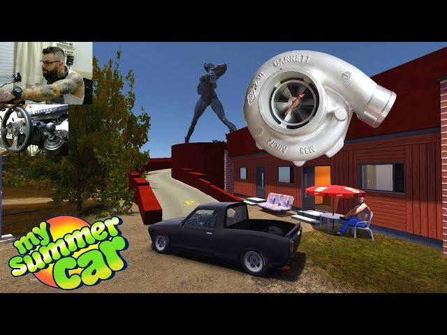 My Summer Car - Save Game + Pack de mod + video de como usar todos os mods + turbo + racha e enjoy
