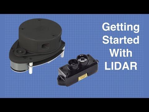 DF Robot LIDAR Sensors – Getting Started with LIDAR
