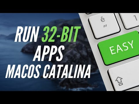 How To: Run 32-bit Apps In MacOS Catalina