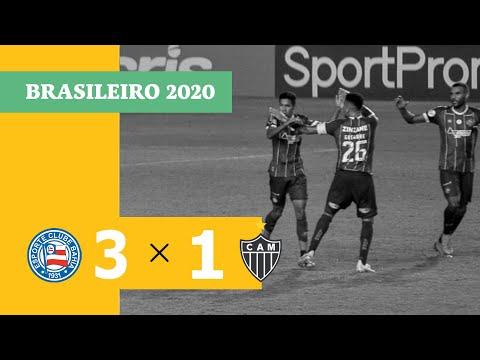 Bahia Atletico-MG Goals And Highlights