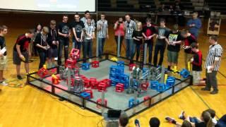 Video Vex Robotics Oregon State Championships 2015 Finals Match: 2 download MP3, 3GP, MP4, WEBM, AVI, FLV April 2018