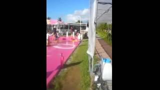 沖縄県恩納村のリゾートホテル ルネッサンスリゾート沖縄の屋外プール施...