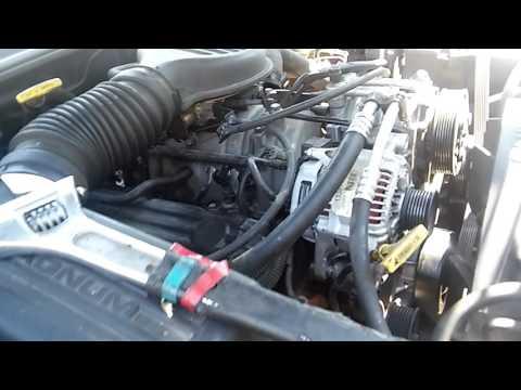 98 Dodge Durango How To Fan Clutch Nut Easy