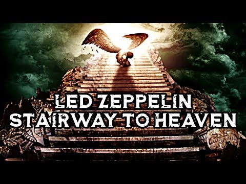 Led Zeppelin - Stairway to Heaven | Lyrics + High Quality ( HQ ) | 1971 , 70s Rock