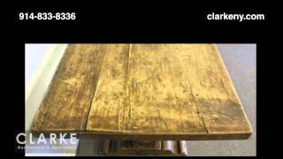 Post Auction | 17th / 18th Century Italian Trestle Table | Furniture | Clarke Auction Gallery