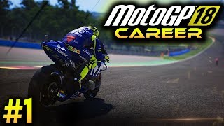MotoGP 18 Career Mode Gameplay Part 1 - RED BULL ROOKIES CUP 2018 (MotoGP 2018 Game Career Mode PS4)