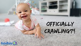 OFFICIALLY CRAWLING?!