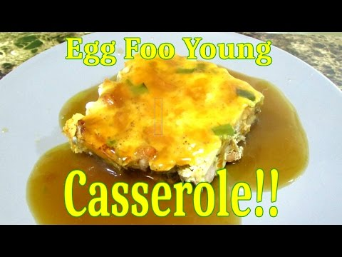 House Special Combination Egg Foo Young Casserole - Chinese Food Recipe - The Wolfe Pit