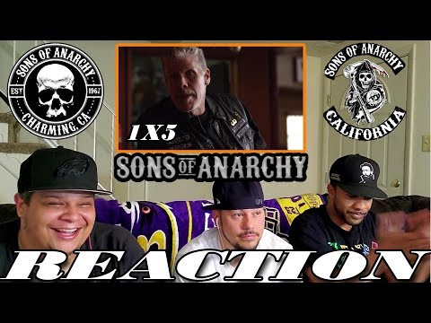 SONS OF ANARCHY SEASON 1 EPISODE 5 REACTION