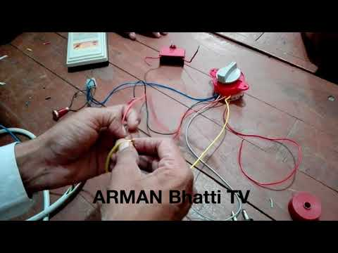 how to wire a switch diagram 1992 toyota truck electrical wiring manual washing machine timer connections - 6 in urdu / hindi youtube