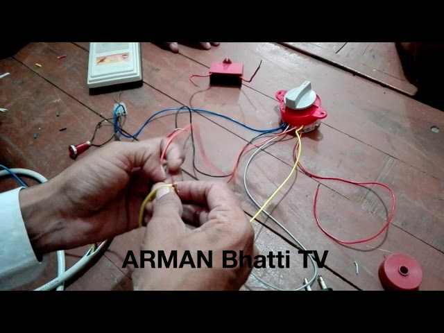 Washing Machine Timer Switch Connections - 6 Wire Timer Connections in Urdu  / Hindi - YouTubeYouTube