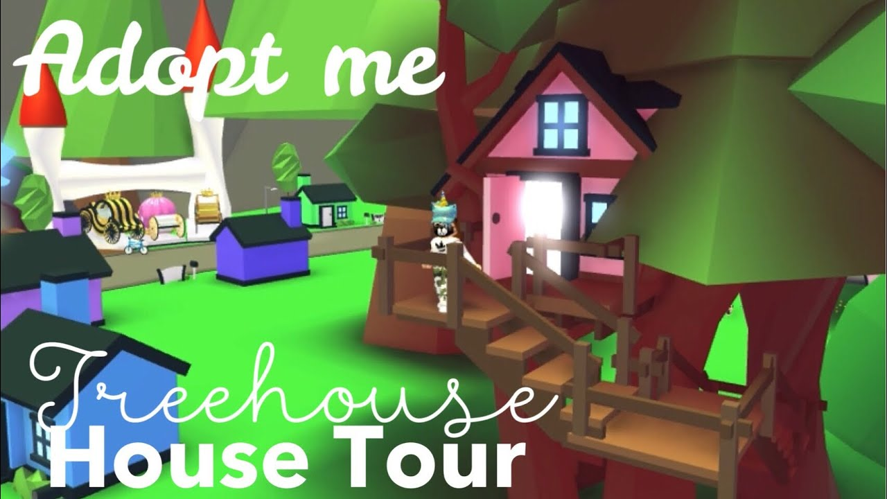 Treehouse House Tour Roblox Adopt Me New Furnitures Its