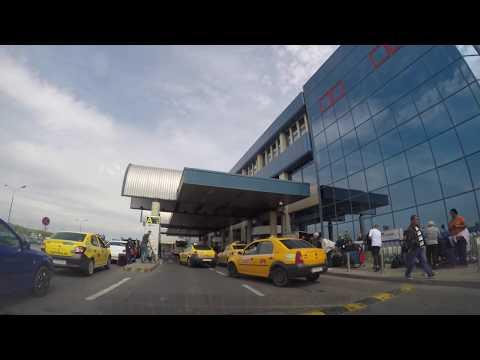 Bucharest Airport to City Center in 4K