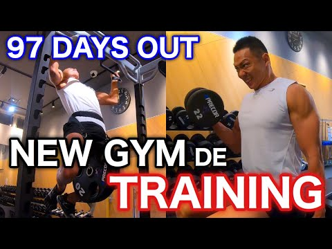 決戦まであと97日!new-gym-de-training