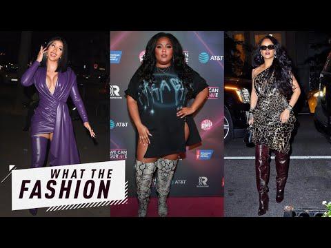 Rihanna&39;s Thigh Risk Thigh Reward  What the Fashion  S2 Ep 36  E News