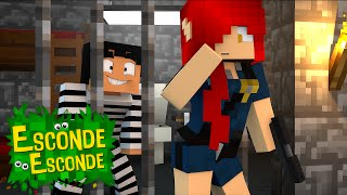 Minecraft: YOUTUBERS NA PRISÃO! (Esconde-Esconde)