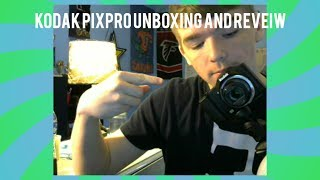 Kodak PixPro Unboxing and Review/New Vlog Setup