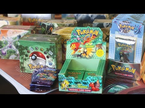 MUST SEE VINTAGE POKEMON CARDS STORE!