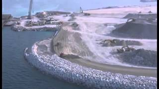 Spektakuler....! Pulau Buatan dilepas Pantai