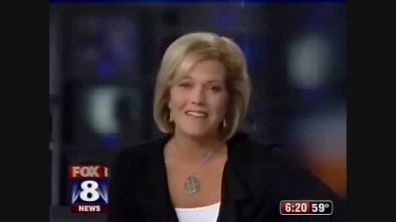 ORIGINAL | News FAIL - News Anchor Tracy McCool loses it / Fox 8 CLE  /  farts in officers face