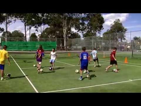 soccer tennis & foot skills