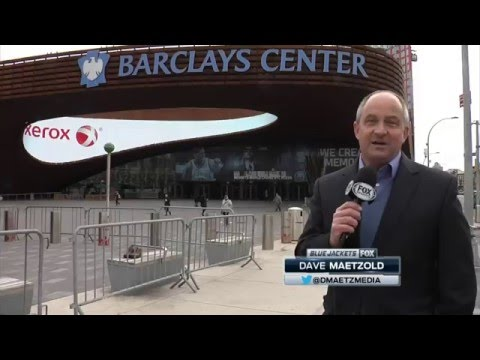 An inside look at the Barclays Center on hockey night