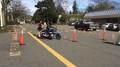 ICBC Motorcycle skills test 2016 Victoria B.C.
