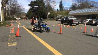 ICBC Motorcycle skills test 2016 Victoria B.C.