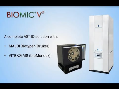 MALDI-TOF Mass Spec & BIOMIC V3: a Complete ID-AST Solution