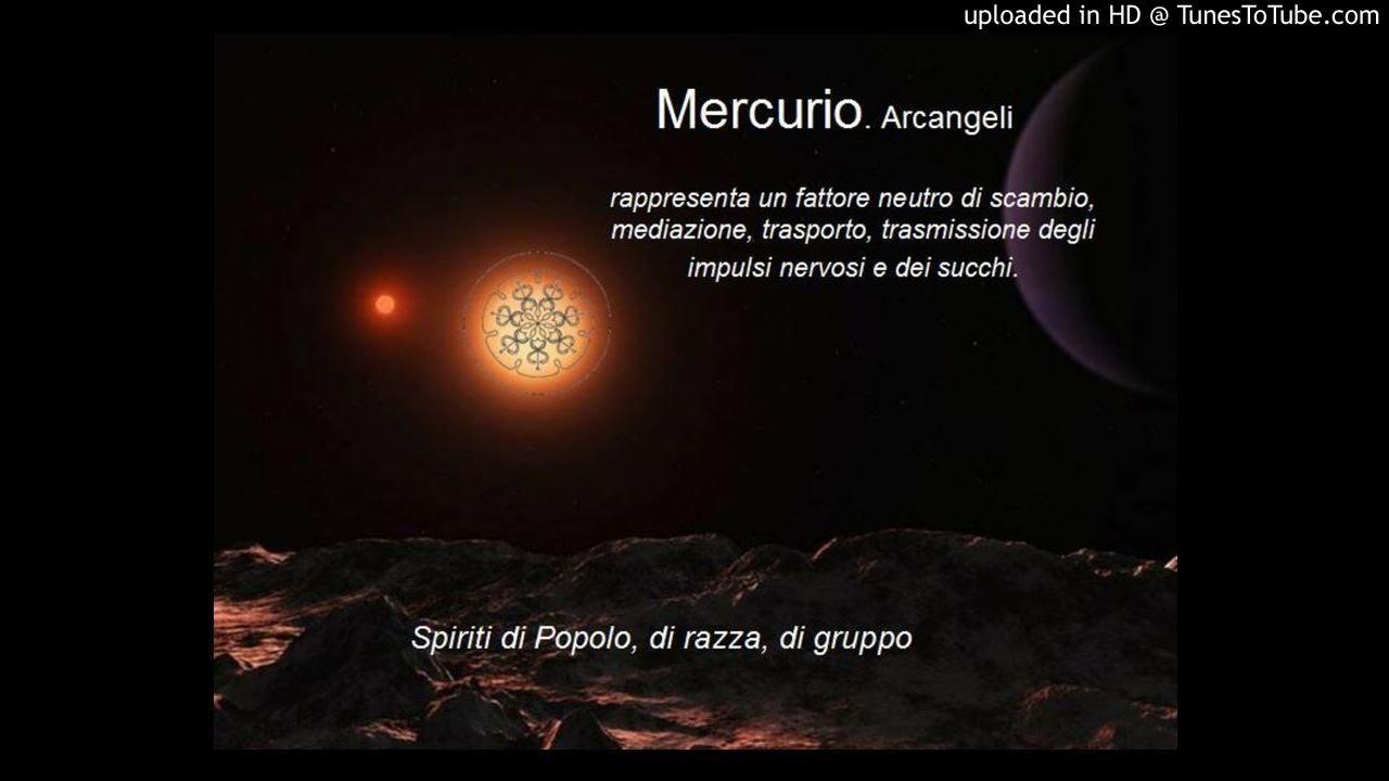 Mercurio - scala Mixolidia