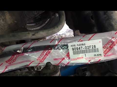 Замена тормозного шланга LX470
