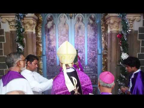 Opening of the Holy Doors of Mercy at Mount Mary, Bandra