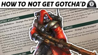 How to not gęt GOTCHA'D | Chapter Tactics