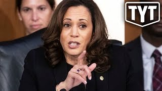 Kamala Harris Attacked By MAGA Troll