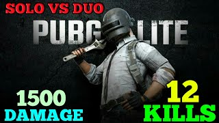 RUSH GAMEPLAY SOLO VS DUO | PUBG MOBILE LITE | SHAURYA GAMING POINT